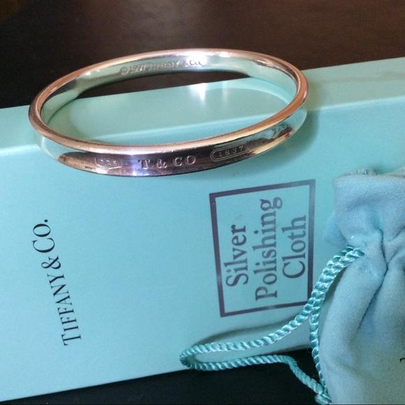 0b6cc3d32a72d Tiffany & Co. 1837 Bangle Bracelet